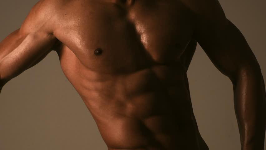 naked chested med