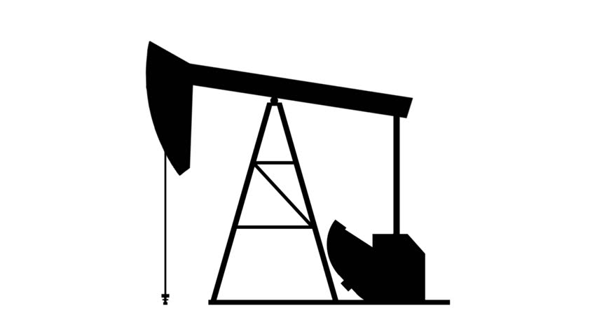 Natural Resource Animation stock footage. A simple concept using line drawing animation to depict dirty energy resources.