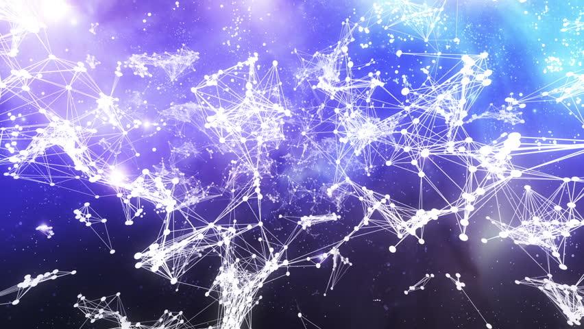 Flight through constellation - looped 3d animation | Shutterstock HD Video #2804887
