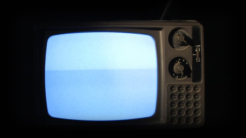 An old retro television turns off.  Static on screen. | Shutterstock HD Video #280582