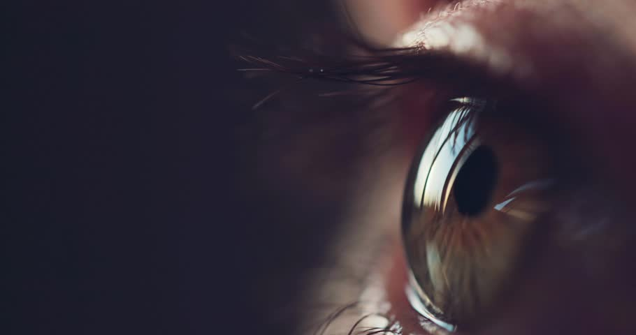 Macro Close-up eye blinking. Slow Motion, 120 fps. Young Woman is opening and closing her beautiful eye. | Shutterstock HD Video #28166425