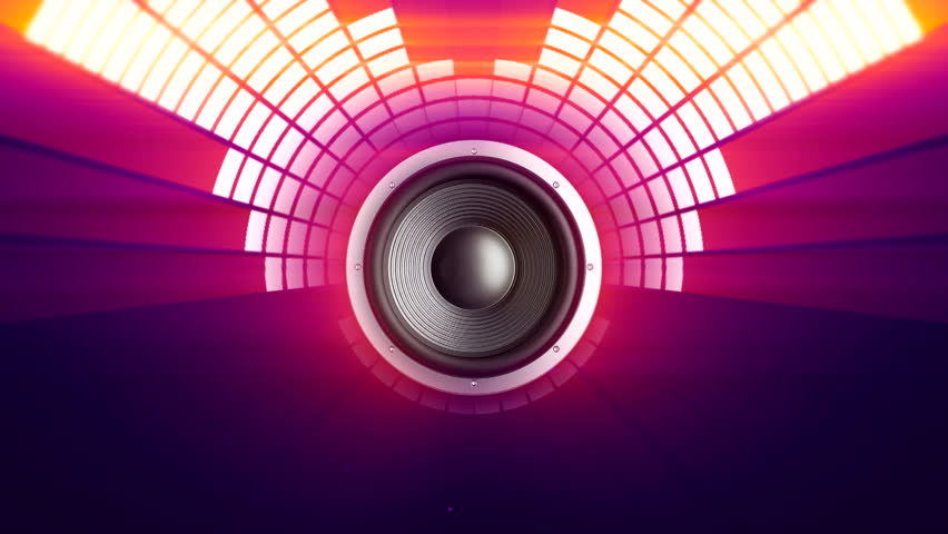 Concert video editing big equalizer colorful abstract background Seamless loop Digital waveform Audio graphic equalizer digital wave glowing particles Computer generated seamless loop abstract motion