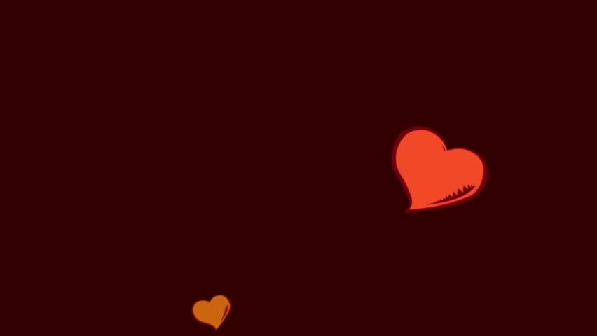 Animated hearts | Shutterstock HD Video #2817826