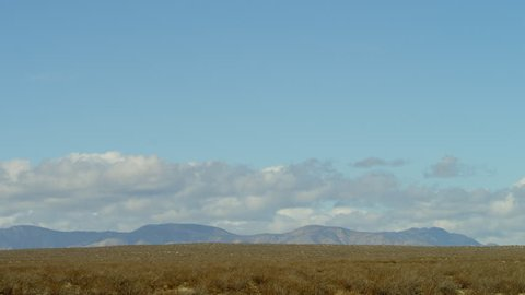 The video of the landscape of plain