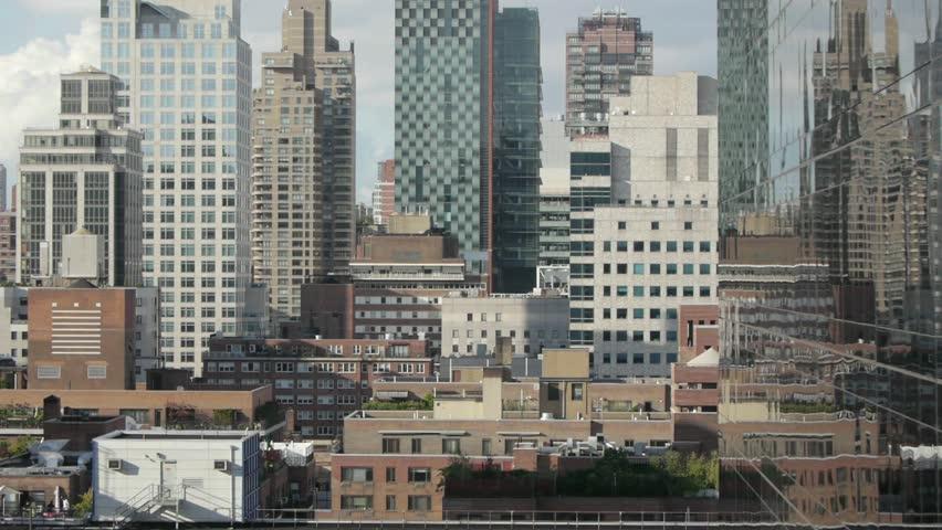 Aerial view of skyline | Shutterstock HD Video #2827870
