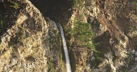 McWay Falls in Julia Pfeiffer Burns State Park, California