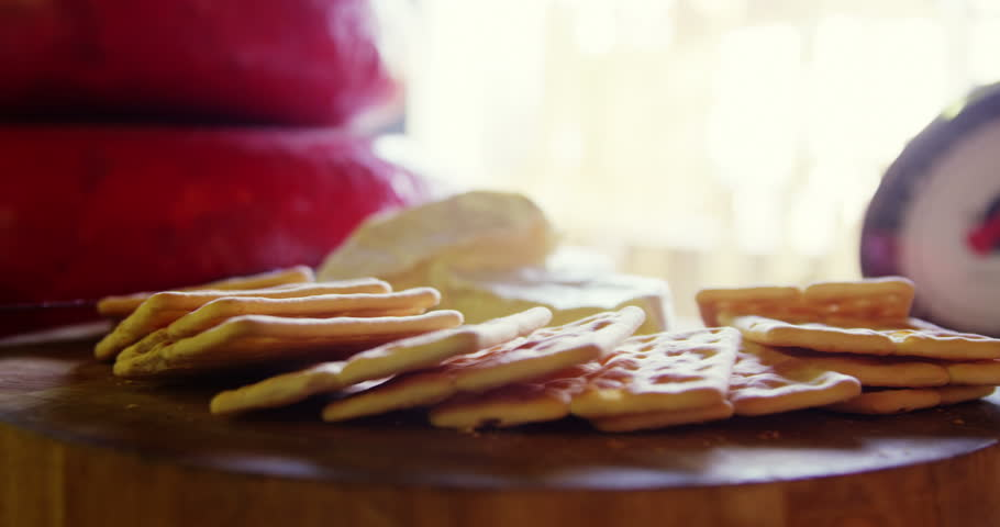 Close-up of sweet food at grocery section of supermarket | Shutterstock HD Video #28308604