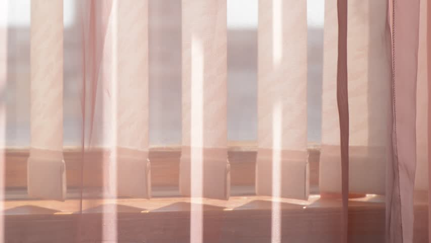 Curtains and fabric blinds moving in the wind   Shutterstock HD Video #28328038
