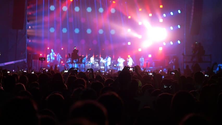 Rock Concert Crowd #28338082