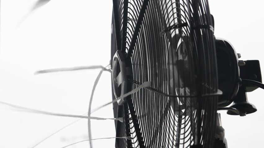 Nice Old Classic Table Fan Close Up, Side View Stock Footage Video 2836501 |  Shutterstock