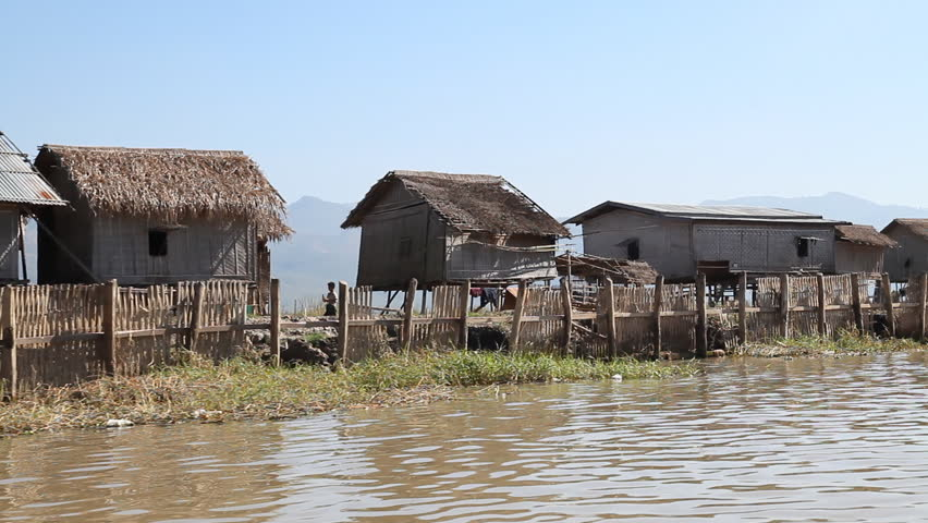 Boat Trip on Inle Lake at Myanmar (Burma)