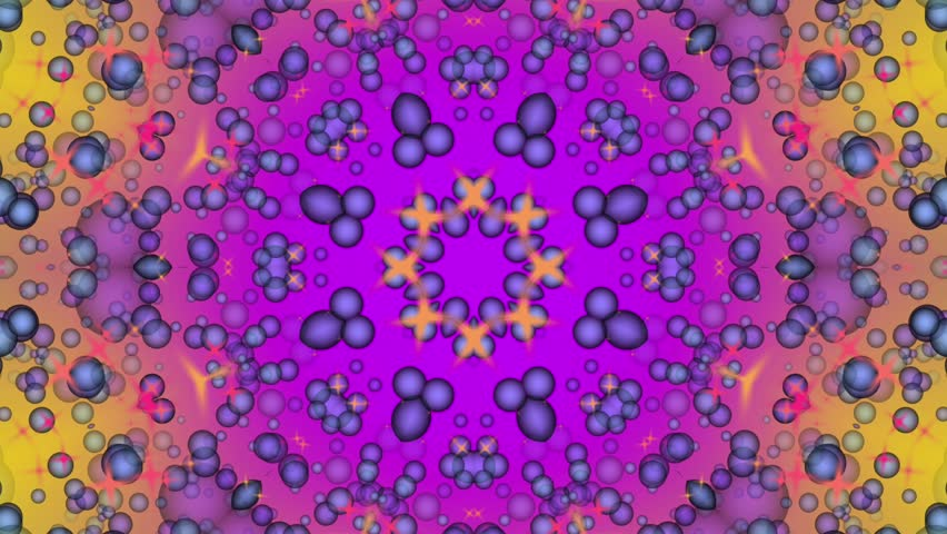 Colorful abstract background. Particle flow. Kaleidoscope. Seamless looping. | Shutterstock HD Video #28453693
