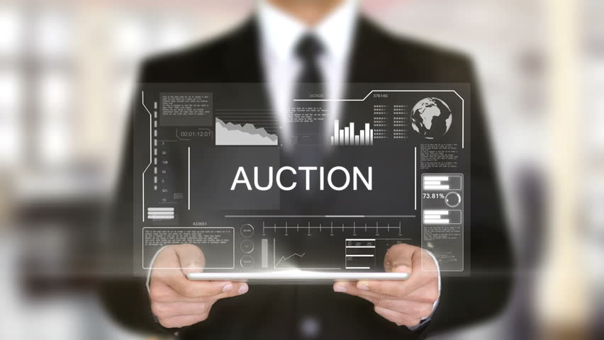 Auction, Hologram Futuristic Interface, Augmented Virtual Reality Royalty-Free Stock Footage #28483498