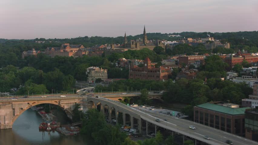 Washington, D.C. circa-2017, Georgetown University. Shot with Cineflex and RED Epic-W Helium.