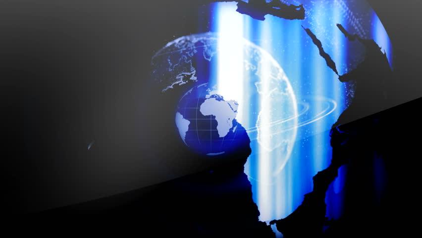 Globe news art | Shutterstock HD Video #28533454