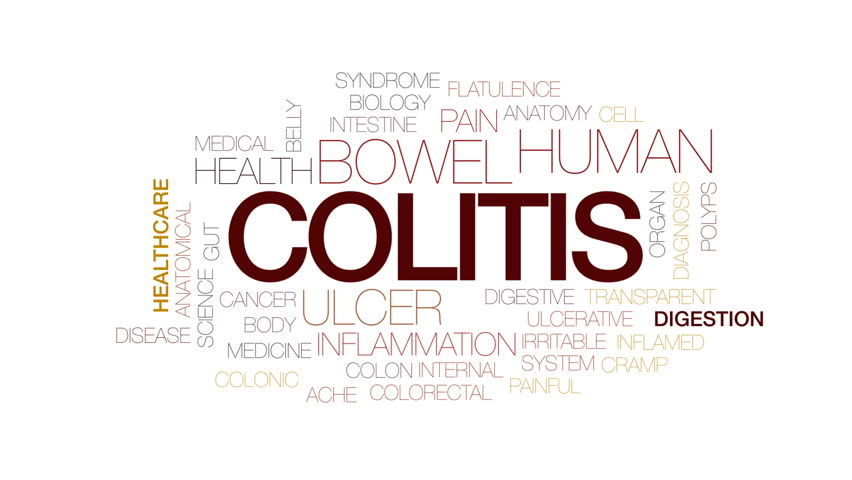 Colitis crisis animated word cloud, text design animation. Kinetic typography.   Shutterstock HD Video #28626556