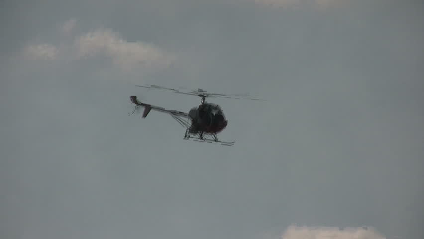 Leisure flying in helicopter | Shutterstock HD Video #286990