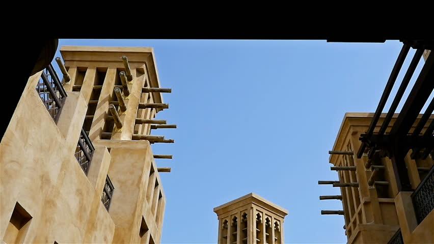 Exterior view of the Souk Madinat Dubai, United Arab Emirates
