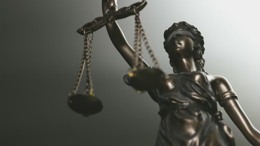 The Statue of Justice - law concept video   Shutterstock HD Video #28780717