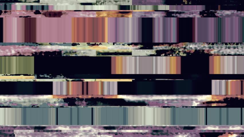 Data Glitch 039: Digital video malfunction (Loop).   Shutterstock HD Video #28784479