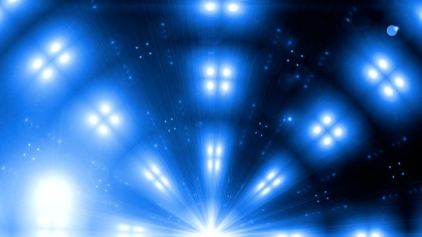 Spectrum lights Concert Spot Bulb Fractal blue kaleidoscopic background Disco spectrum lights colorful spot bulb Background blue motion amber fractal design black background Light Tunnel Seamless art