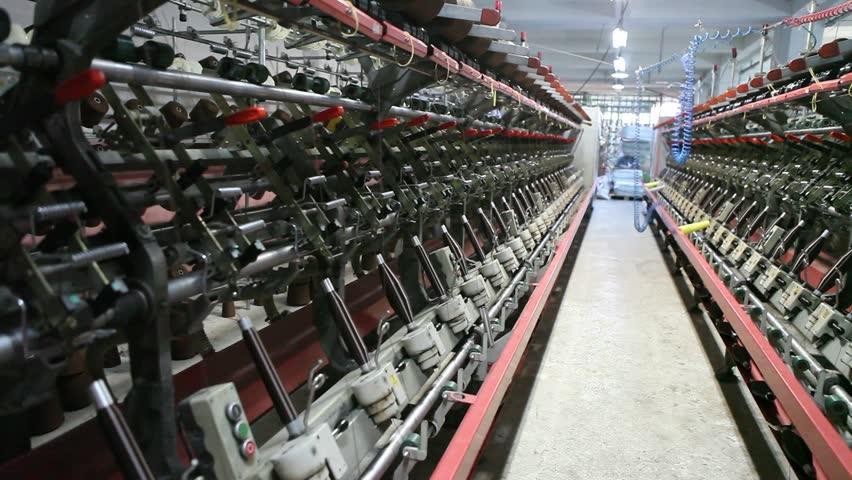 Textile Factory    Shutterstock HD Video #2885533