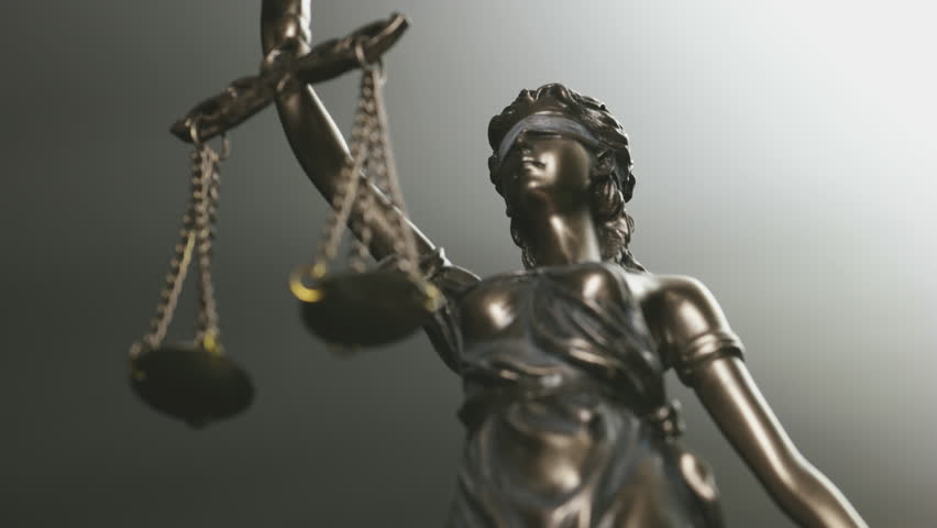 The Statue of Justice - Justitia the Roman goddess of Justice   Shutterstock HD Video #28983892