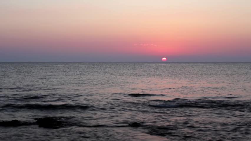 Dawn on the sea  | Shutterstock HD Video #2899270