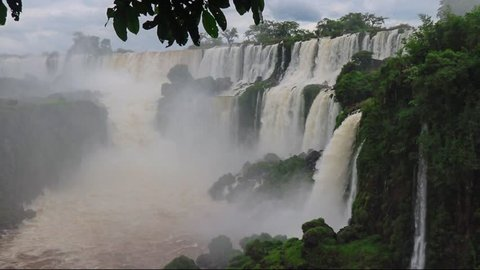 Iguazu Falls on the border of Brazil and Argentina. One of the world's great natural wonders.