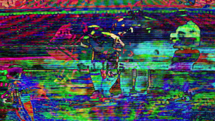 TV Noise 0204: Abstract TV imagery (Loop).