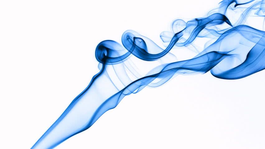 Blue Smoke Transparent Background
