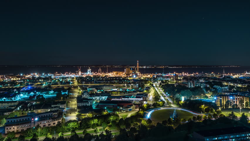 Time lapse of downtown Helsingborg | Shutterstock HD Video #29178340