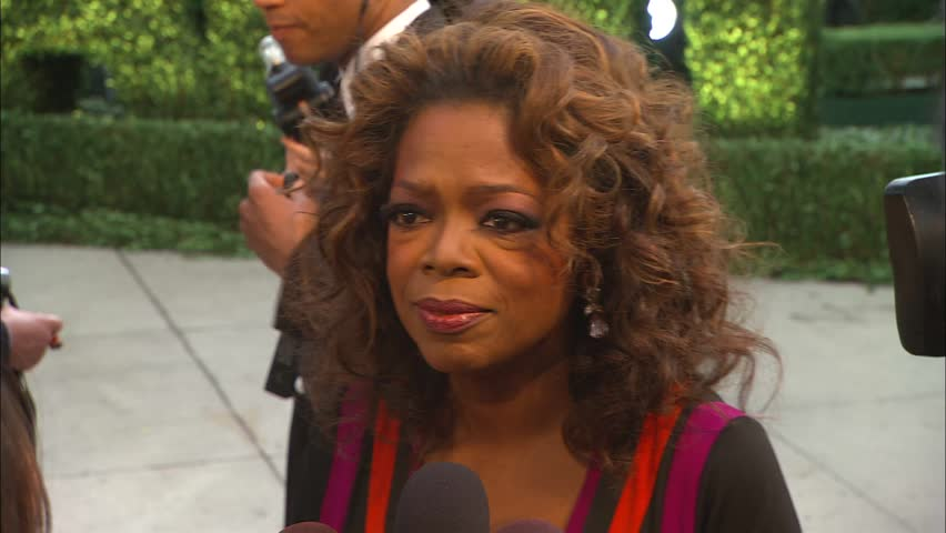 Los Angeles, CA - FEBRUARY 25, 2007: Oprah Winfrey, walks the red carpet at the Vanity Fair 2007 held at the Morton's The Steakhouse