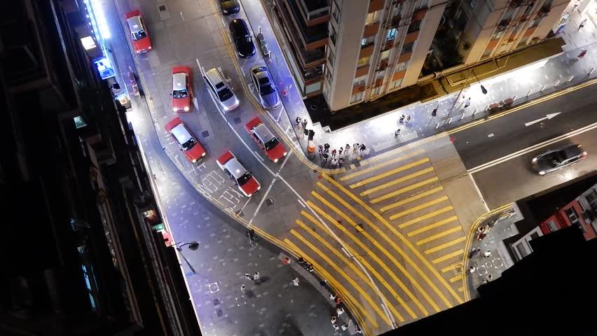 Street in Hong Kong City #29270875