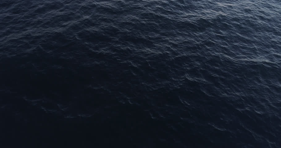 High Aerial 4k source perfect blue water off California coastline Late afternoon- h265 converted to prores444 Phantom 4 pro - color grades better than other Phantom footage 6 in the set