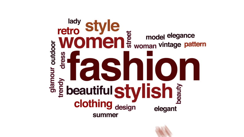 Fashion Animated Word Cloud Text Stock Footage Video 100 Royalty Free 29359615 Shutterstock
