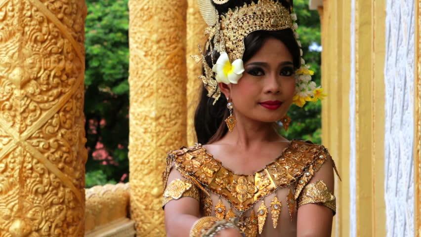 Apsara Dancer beautiful supernatural female