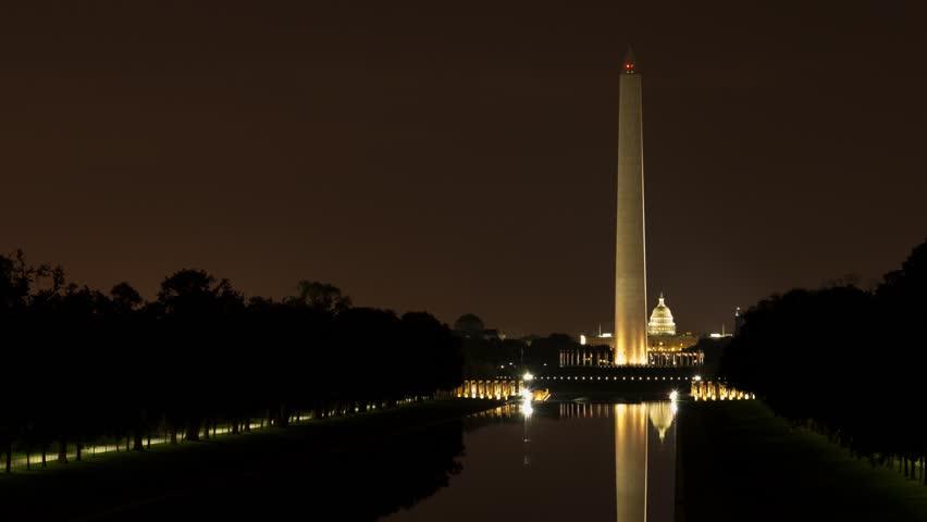 Washington Monument - HDR Timelapse 2 (Sunrise)