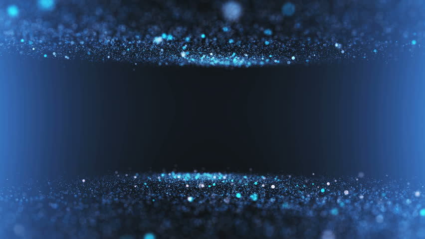 Gentle shimmering ice particles in 4K UHD video loop animation.