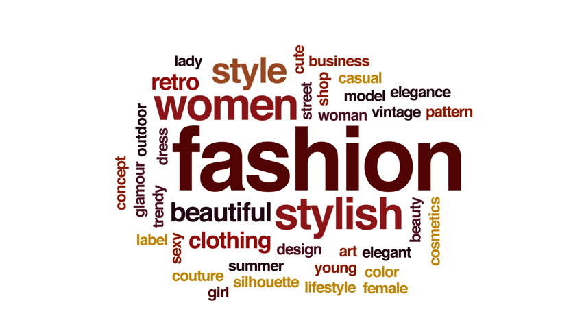 Fashion Animated Word Cloud Text Stock Footage Video 100 Royalty Free 29503351 Shutterstock