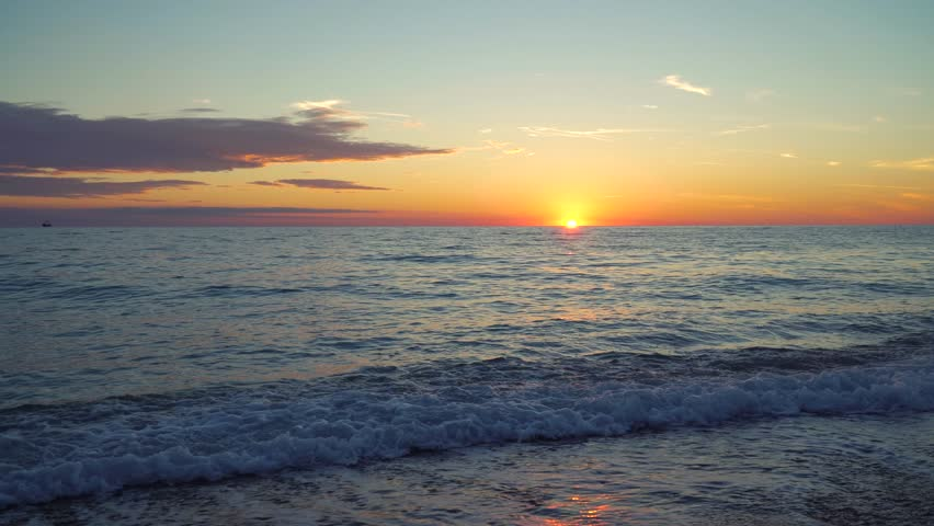 Sunset Over The Sea   Shutterstock HD Video #29519398