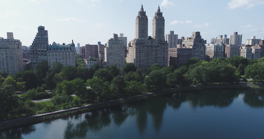 Aerial view of Manhattan skyline, New York City  | Shutterstock HD Video #29561101