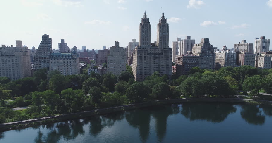 Aerial view of Manhattan skyline, New York City  | Shutterstock HD Video #29561119