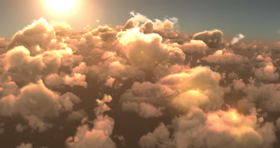 Beautiful smoky clouds and bright sunlight | Shutterstock HD Video #29578693