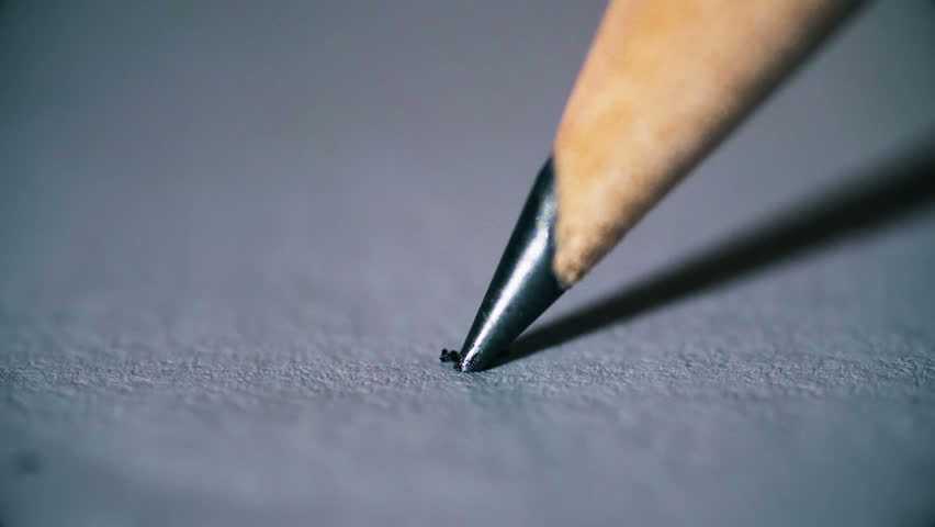 Breaking the tip of a pencil: stress, anger ,frustration- slow motion | Shutterstock HD Video #29650453
