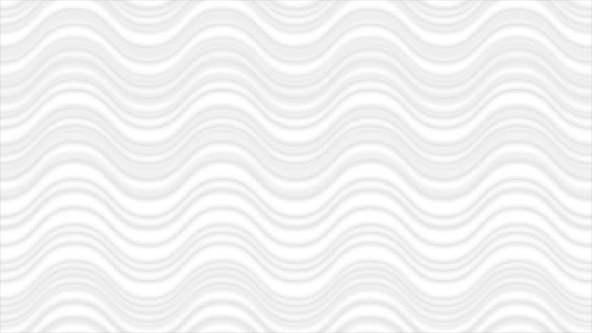 Abstract grey white wavy lines motion background. Seamless looping video animation Ultra HD 4K 3840x2160 | Shutterstock HD Video #29705995