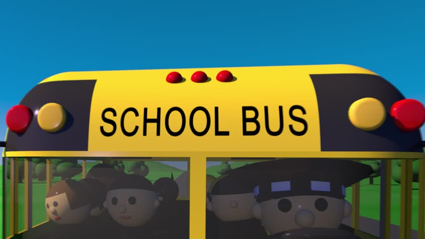Back to school. The bus carries children to school. | Shutterstock HD Video #29780467