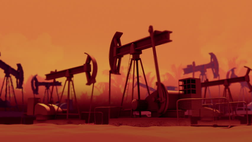 Pumping Oil Wells