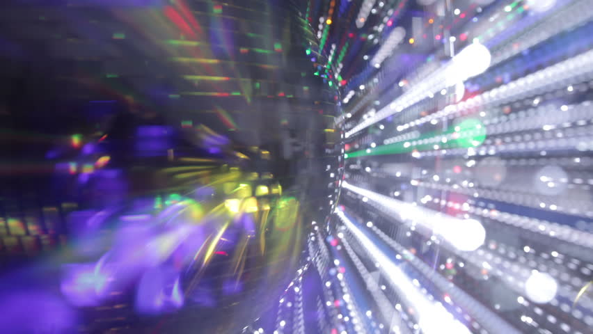 Abstract funky discoball spinning with light effects and rays. perfect clip for club visuals or party/celebration | Shutterstock HD Video #2992447