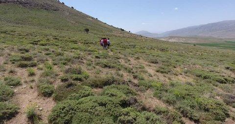 Iranian nomad people - kurd